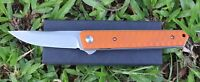 "5"" G10 Handle ball bearing Folding Knife with 440C Blade Pocket Knife"
