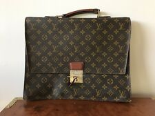 Authentic Louis Vuitton Briefcase Vintage With Lock And Key