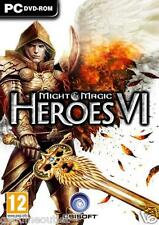 Heroes of Might and Magic Heroes VI 6 for PC Brand New Factory Sealed
