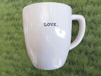 NEW * Rae Dunn LOVE Coffee / Tea Cup Mug