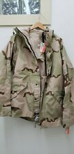 Military Issued 3 Color Desert Gortex Jacket-New with Tags-Lr