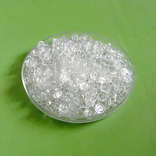 200 Wholesale Lot Mini Doll Clothing Micro Tiny Small Sew Buttons 6mm Clear S317