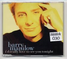 Barry Manilow Maxi-CD I 'D really love to see You Tonight - 5-Track CD