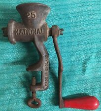 Spong National No. 25 Edge Mounting Food Mincer/Grinder - Ideal For Lamp Base