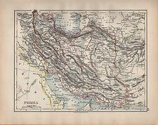 1902 MAP ~ PERSIA ~ FARSISTAN KERMAN KHUZISTAN