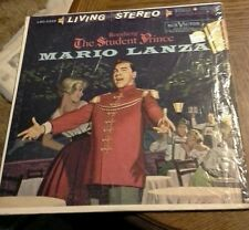 Romberg The Student Prince - Mario Lanza with Orchestra - LP Record/Vinyl