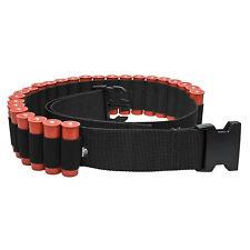 Shotgun Shell Belt by Mossy Oak - Holds 25 Rounds Shotgun Ammo - 12g / 20g Black