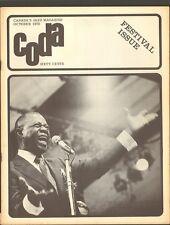 CODA 1970 Louis Armstrong IRA SULLIVAN Joan Baez NINA SIMONE Elizabeth Cotton