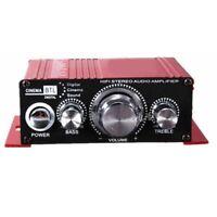 12V Mini Hi-Fi Audio Verstaerker Booster MP3 Stereo fuer Auto Motorrad Boo R8T1