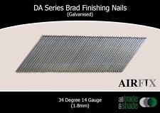 DA Series Brad Finishing Nails (Galvanised) - Length: 64mm - Box: 3000 Nails