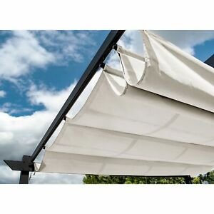 ALEKO Fabric Replacement for Pergola Canopy 13 x 10 Ft - White Color