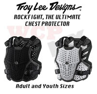 Troy Lee Designs Rockfight Chest Protector - Mens and Youth Sizes