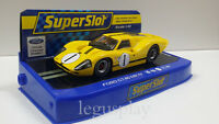 Slot SCX Scalextric Superslot H3859 Ford GT40 MK IV Sebring 12 Hours 1967