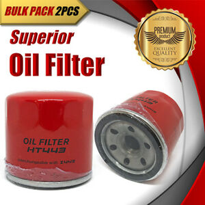 2x Oil Filter Z443/WZ443 Fits SUZUKI Swift Grand Vitara APV Baleno Liana S-Cross
