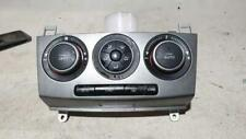 MAZDA 3 HEATER/AC CONTROLS BK, SP23, SILVER GREY FACE TYPE , 07/06-04/09  06 07