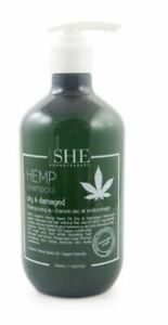 OM SHE Aromatherapy Hemp Seed Oil Shampoo OR Conditioner 500ml - Dry & Damaged