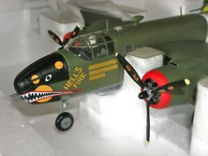 "Armour Collection WWII B-25-D Mitchell ""ROUGH-RAIDERS"" USAAF Die Cast (98169)"