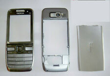Silver Housing cover fascia facia faceplate case for Nokia E52