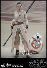 Star Wars The Force Awakens 1/6 Scale Hot Toys Rey + BB8  Sideshow
