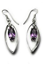 74e5e206ddba Pendientes de joyería amatista diamante