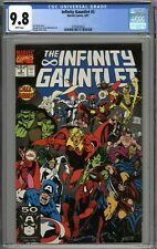 Infinity Gauntlet #3 CGC 9.8 NM/MT WHITE PAGES