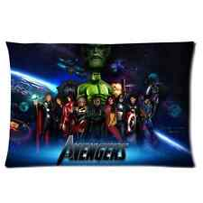 Personalized Avengers Rectangle Pillowcase 16x24 Inch Pillow Case Cover One Side