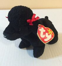 Ty Beanie Baby Original 1997 Gigi Plush Black Poodle 6� With Tags