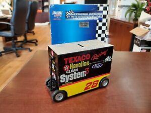 Ernie Irvan #28 Texaco Havoline 1:16 Pit Wagon Bank NASCAR Action