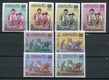 Afghanistan 1964 UNO Medizin Landwirtschaft Michel #870-77B ungezähnt ** MNH