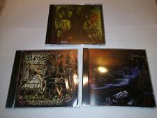 DECEASED CD LOT OF THREE FACTORY SEALED NEW 2015/2018 Lost Apparitions USA