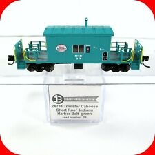 N Scale IHB INDIANA HARBOR BELT Short Roof Transfer Caboose #20 -- BLUFORD 24231