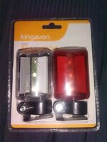 Front and Rear  LED Bike Cycle Lights.