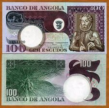 Angola, 100 Escudos, 1973, Pick 106, aUNC