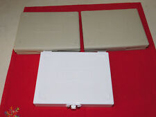 Three Microscope Slide Storage Boxes for 100 slides/each