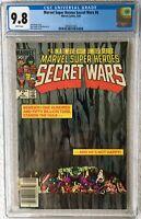 CGC 9.8 MARVEL SUPER HEROES SECRET WARS #4 .. NEWSSTAND EDITION .. LAYTON ART ..