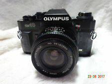OLYMPUS OM40 Program Camera With vivitar 28mm MC lens f2.8 stunning student