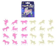 24 Unicorn G.I.D Night Lights - Bedroom Glow In The Dark Star Wall Stickers