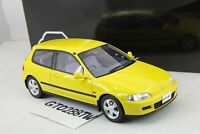 OTTO 1:18 Honda Civic Sir II EG6 1995 Yellow(OTM711) Ottomobile/Kyosho exclusive