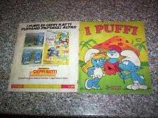 ALBUM I PUFFI PANINI 1983 COMPLETO MOLTO BUONO SERIE TV NO CALCIATORI MANGA