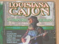 LOUISIANA CAJUN -20 Stomps From The Swamps- CD