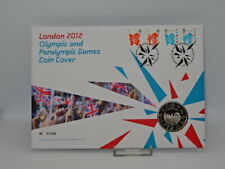 Royal Mint London 2012 Olympic And Paralympic Games Coin Cover - £5