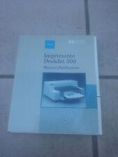 Manuel Imprimante HP Desjket 500 en français