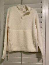 SKIMS Cozy Knit Pullover in Bone color