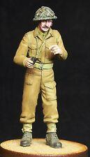 1/35 Scale resin model kit WW2 officier britannique