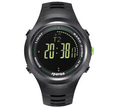 Spovan Men's Sports Compass Watch Altimeter Barometer Pedometer Calorie Counter