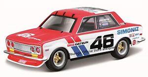 Bburago 1971 DATSUN 510 BRE 1:43 SCALE DIECAST MODEL CLASSIC RALLY CAR