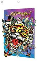 Ed Hardy Tattoo Hologram Printed Poster 3D