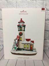 2018 Hallmark Keepsake Santa LUMINOUS LIGHTHOUSE Table Decoration New In Box