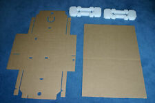 New Empty Laptop Postal Boxes Set Foam Highest Quality Smurfit Kappa Made in UK!