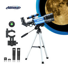 Monocular Spotting Terrestrial Stargazing Astronomical Telescope Tripod F30070M